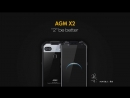 AGM X2 new commercial rugged IP68 smartphone for adventure and sports