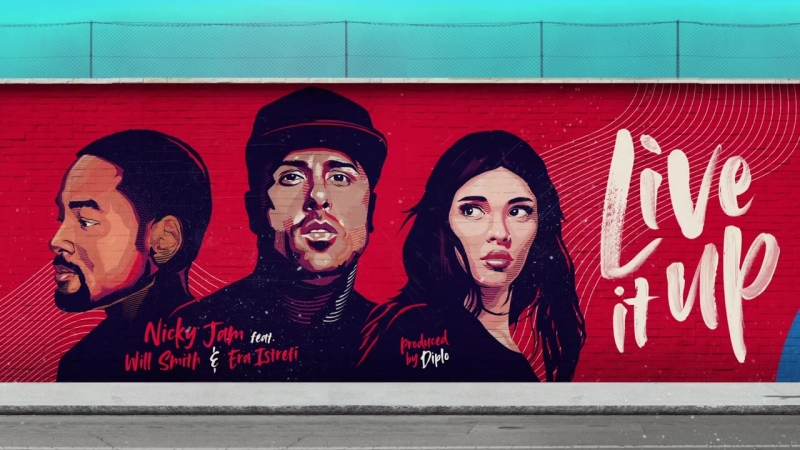 Live It Up - Nicky Jam feat. Will Smith Era Istrefi (2018 FIFA World Cup Russia) (Official Audio)