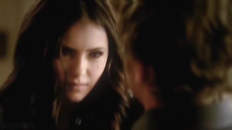 Damon, stefan, elena katherine.