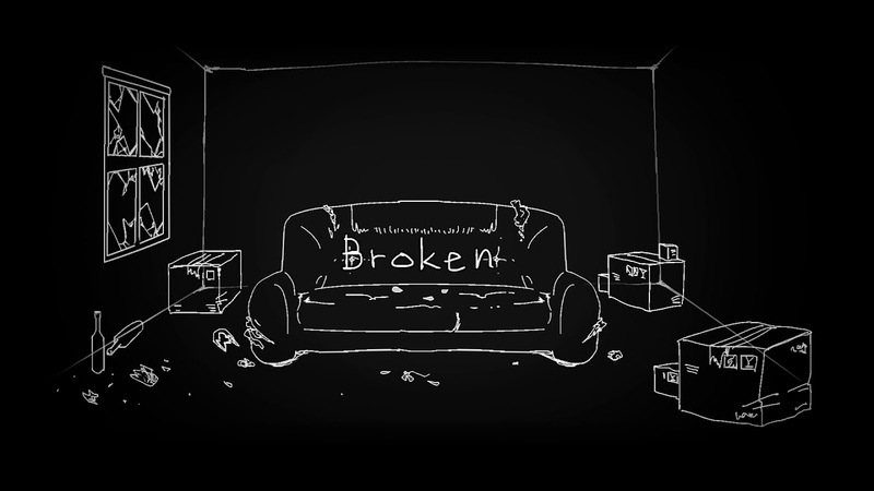 【Undertale au/手描(书)/FADEHIKER】Tell you that I'm 《Broken》