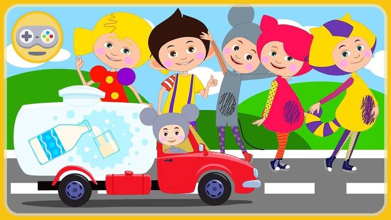 Кукутики игра про машинки для детей - Дорожное Приключение