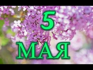 5 мая день борьбы за права инвалидов и другие праздники...