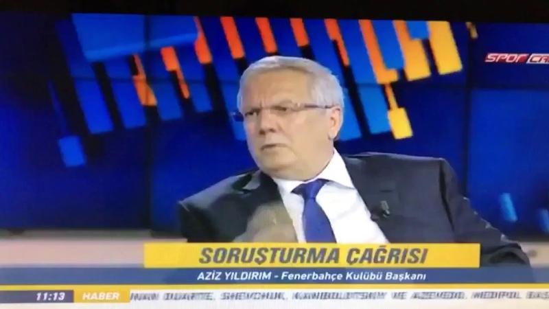 Galatasaray FETÖ, ilişkisini,AZİZ YILDIRIM Anlatıyor