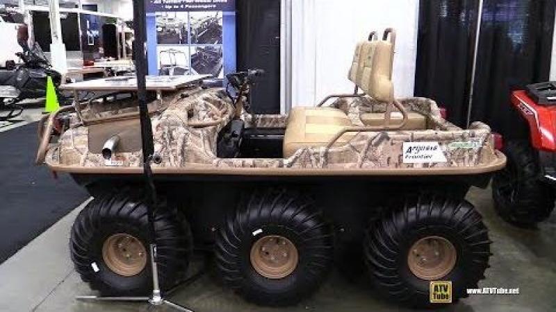 2018 Argo 6x6 Frontier Scout S Amphibious Vehicle - Walkaround - 2017 Toronto Snowmobile ATV Show