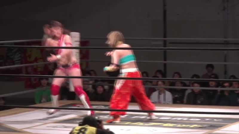 Miyu Yamashita c vs Yuka Sakazaki TJPW The Sparkling Girl Will Fly To Hakata