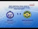 Зенит 1-1 Насьонал / 27.08.2009 / FC Zenit vs C.D. Nacional