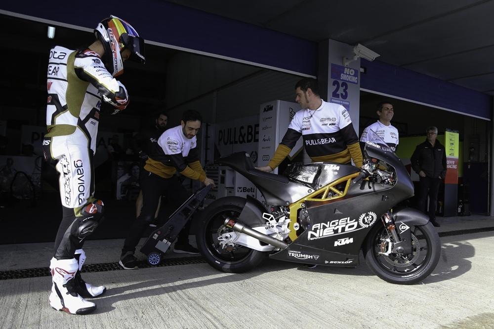 Результаты 3-го дня тестов Moto2/MotoE в Хересе
