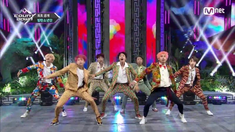 BTS 방탄소년단 IDOL @M COUNTDOWN
