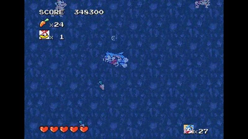Tiny Toon Adventures Buster's Hidden Treasure Sega Genesis