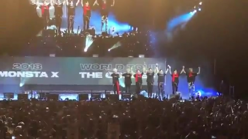 [FC VK][23.06.2018] The 2nd World Tour The Connect In Madrid - ending stage
