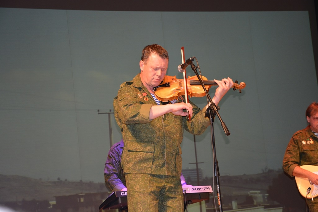 Торжественное собрание и концерт в честь воинов-интернационалистов в Бресте