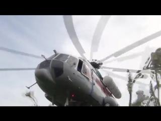 оперативное актуальоне видео спасения туристов в горах на ми-8 мчс россии