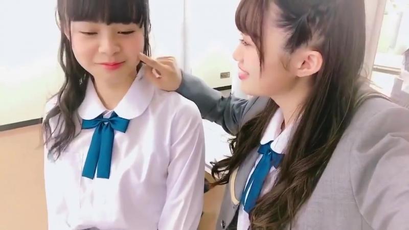 NGT48 中井りか 本間日陽「どうせ私がHちゃんなんでしょ」😊180514
