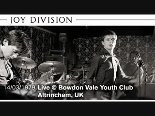 Joy Division - She's Lost Control, Shadowplay, Leaders of Men (Live Bowdon Vale, 1979)