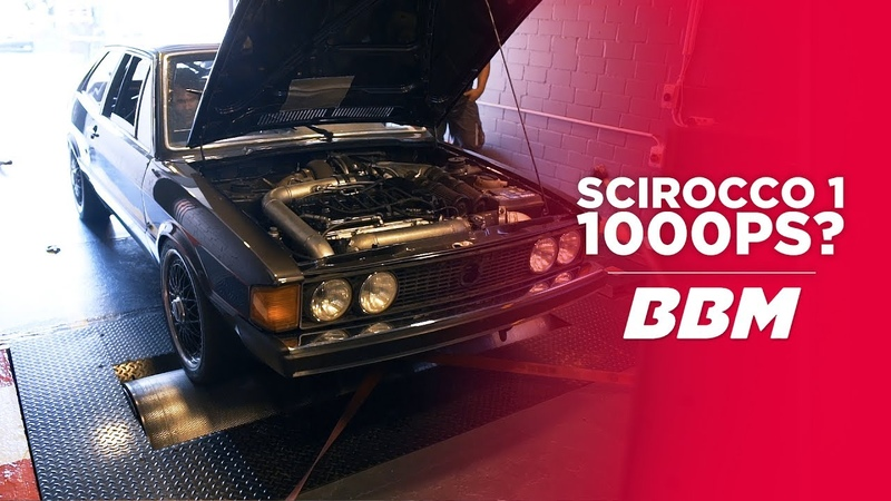 1.000 PS | VW Scirocco I von 1980 on Dyno by BBM