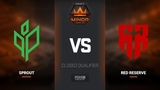 Red Reserve vs Sprout, map 2 train, Europe Minor Closed Qualifier FACEIT Major 2018