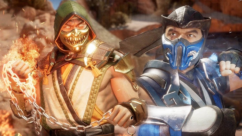 MORTAL KOMBAT 11 - Scorpion vs Sub-Zero High Level Gameplay 1 @ 1440p ᴴᴰ ✔