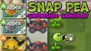 PvZ2 - Snap Pea Unfinished Gameplay - 6.9.1