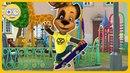Барбоскины Гонки на скейте * Помогаем Дружку стать чемпионом скейтбординга * Игры с Kids PlayBox