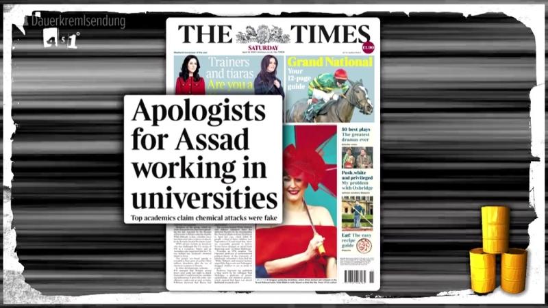 Syrien Giftgas Beweise oder Propaganda   Zensur der Presse   451 Grad   66