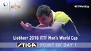 2018 ITTF Mens World Cup Point of the day 1 presented by STIGA