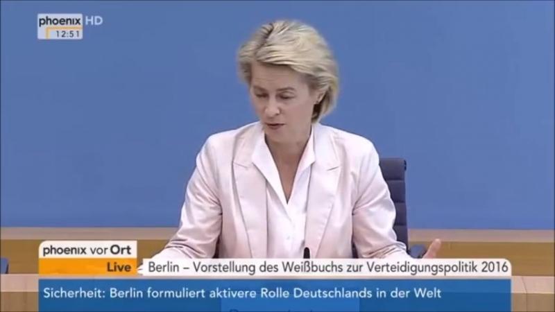 Die neue Bundeswehr Mehr Migrantenanteil, mehr sexuelle Orientierungen mehr Behinderte - Verteidigungsministerin Ursula von