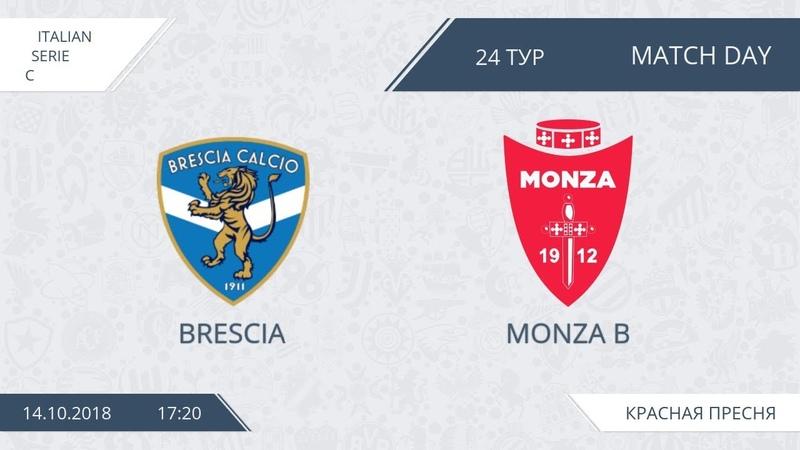 AFL18. Italy. Serie C. Day 24. Brescia - Monza B