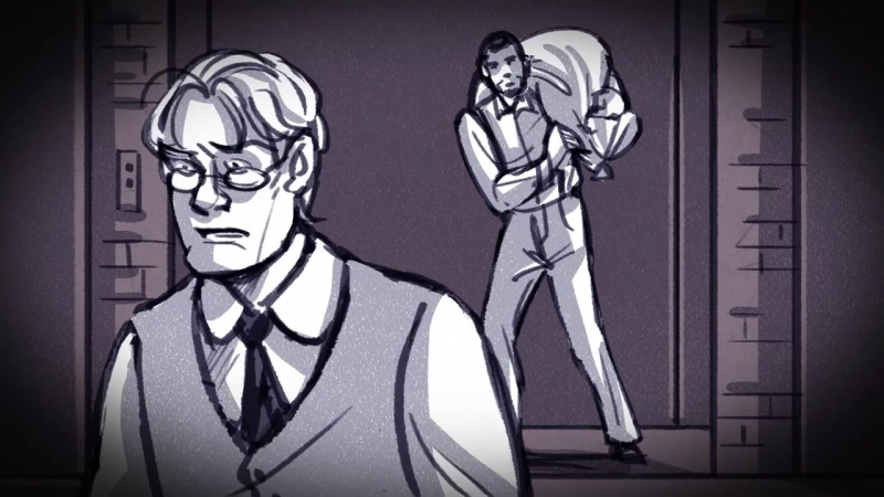 Parade- the musical (That's What He Said) Animatic / Storyboard