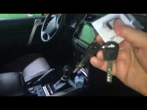 Toyota Land Cruiser Prado 150 замок на капот Механический дополнительный противоугонный блокиратор