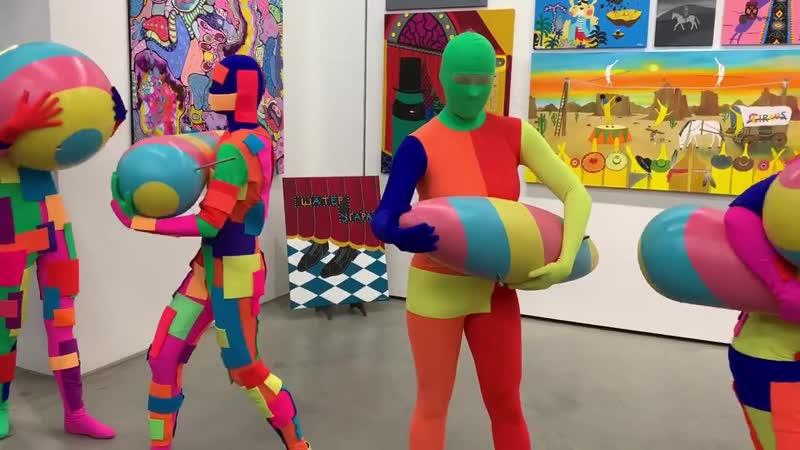 Сборка скульптуры Жонглёр