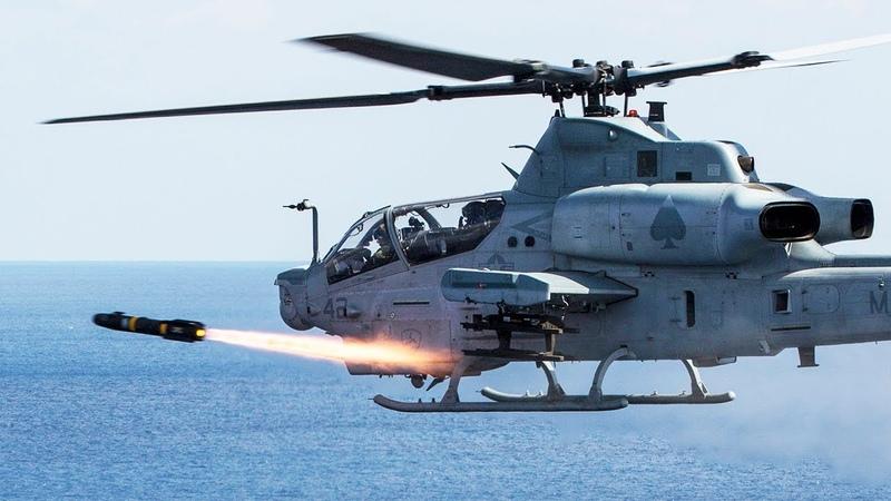 «Морской ястреб» стреляет ракетами Hellfire воздушные стрельба AGM-114 [Обучение]