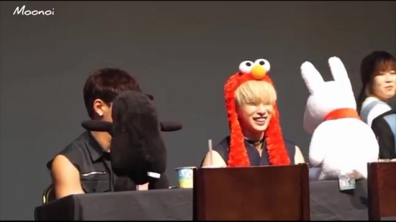 [VK][160626] MONSTA X fancam (Wonho focus) @ CTS Art Hall Fansign