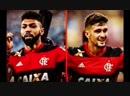 Clebão Machado narrando gol do CRF com Gabigol e Arrascaeta