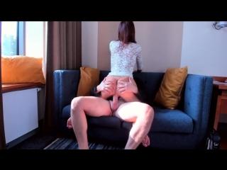 Страстная телка скачет на члене - vk.com/porno_hay [секс, минет, порно]