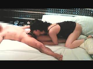 A japanese cross-dresser getting huge cum-shot in her anal