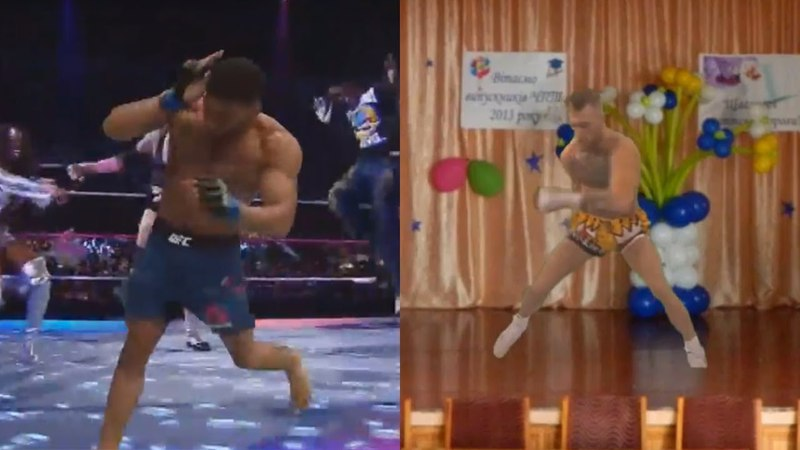 Conor McGregor Kevin Lee dancing together [FUN VIDEO]