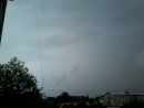 Близкий удар молнии Слободской 27 мая