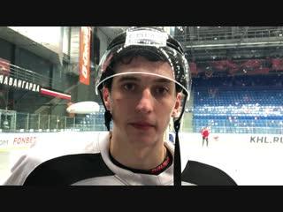 Илья Михеев приглашает на матч с