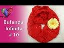 Crochet Bufanda Infinita 10
