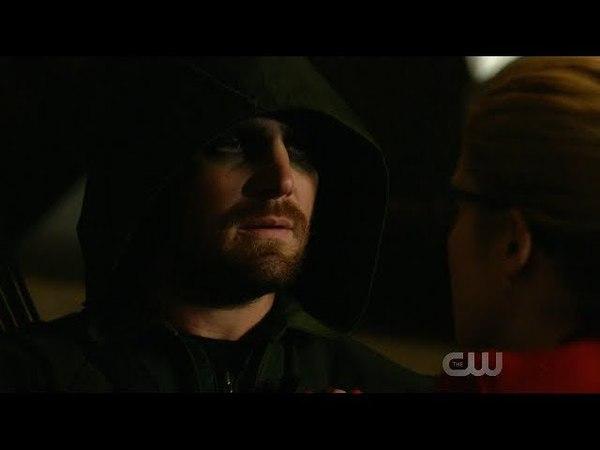 Oliver Felicity SCPD Scene |Arrow 6x18