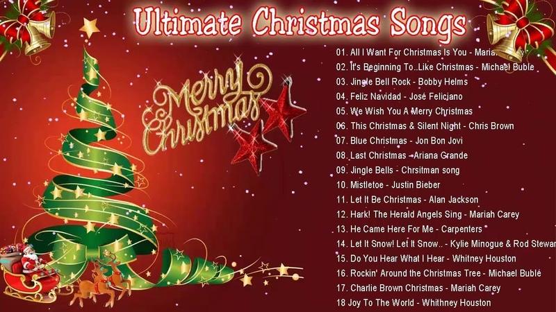 Плейлист Ultimate Christmas Songs - Рождественские песни на английском языке