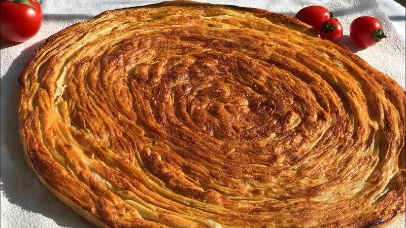 Sivas yöresinden YAĞLI ÇÖREK tarifi / Katmer tadında çok lezzetli / Ev Lezzetleri
