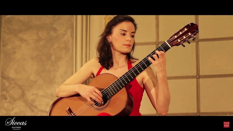 Ana Vidovic plays Yesterday LIVE by Siccas Guitars