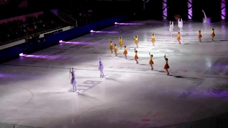 Туркменская команда фигуристов в Олимпийском 20.04.2013 ч. 1