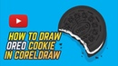 How to Draw OREO in Corel Draw