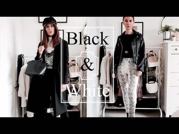 I Wore Black And White For A Week!