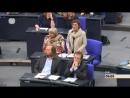 Maul Halten Britta Haßelmann Grünen Live Bundestag