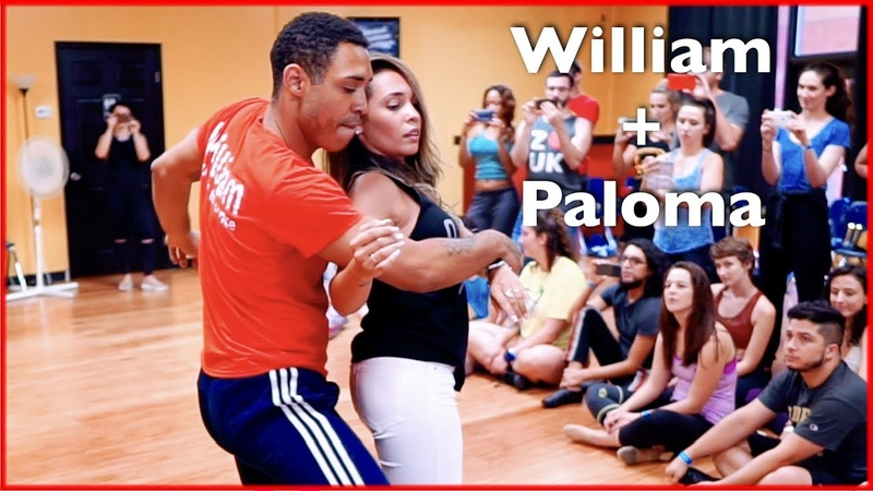 Brazilian Zouk Dance by William Teixeira Paloma Alves in Atlanta Master Workshop