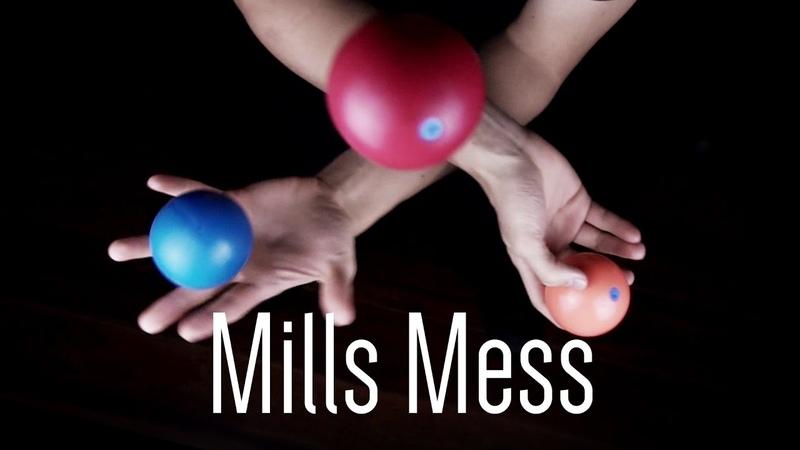 Tutorial de Malabarismo   3 Ball Mills Mess