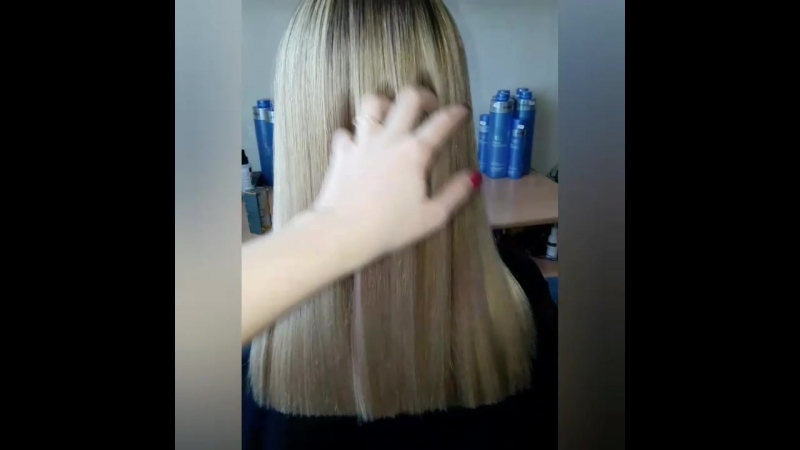 Ботокс для волос. Мастер Елена